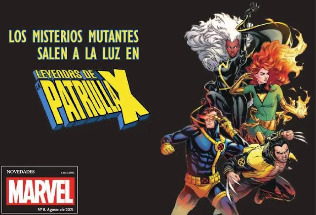 Novedades Panini Comics agosto 2021