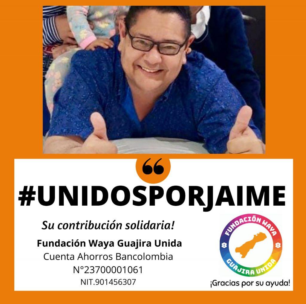 https://www.notasrosas.com/'Waya Guajira' colecta recursos para coadyuvar con tratamiento médico de Jaime Espeleta Herrera