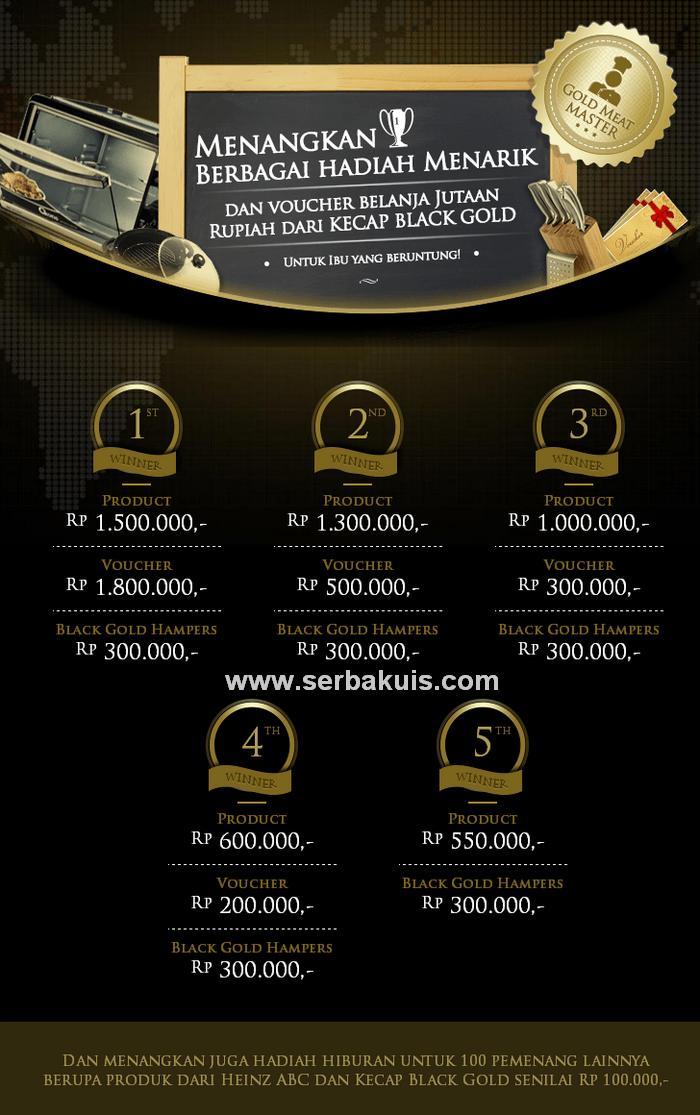 Kontes Resep Berhadiah Peralatan Masak Total Jutaan Rupiah