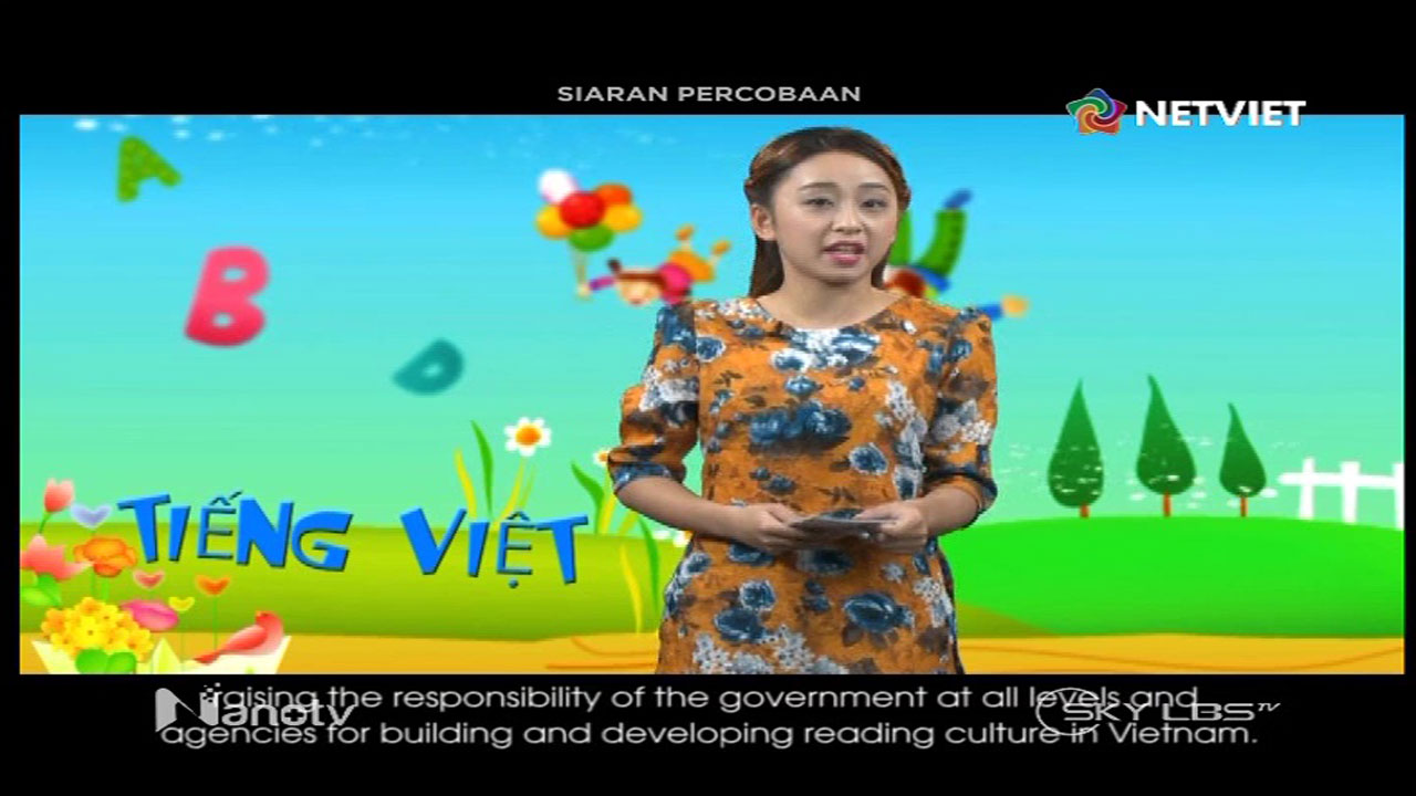 Frekuensi siaran Net Viet di satelit ChinaSat 11 Terbaru