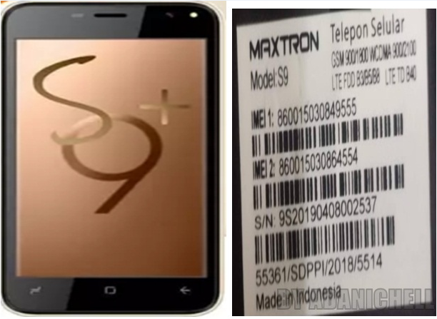 Firmware Maxtron S9 SPD Pac Flash File Stock ROM