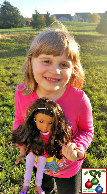 "Nahji, 14"" dolls, cultural diversity, India, gifts, holiday gift guide"