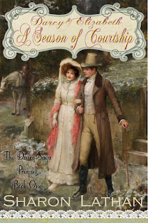 Book Cover: Darcy & Elizabeth: A Season of Courtship by Sharon Lathan