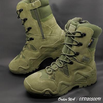 Sepatu PDL Blackwater Hi BLW PRO 9 Inch Hijau