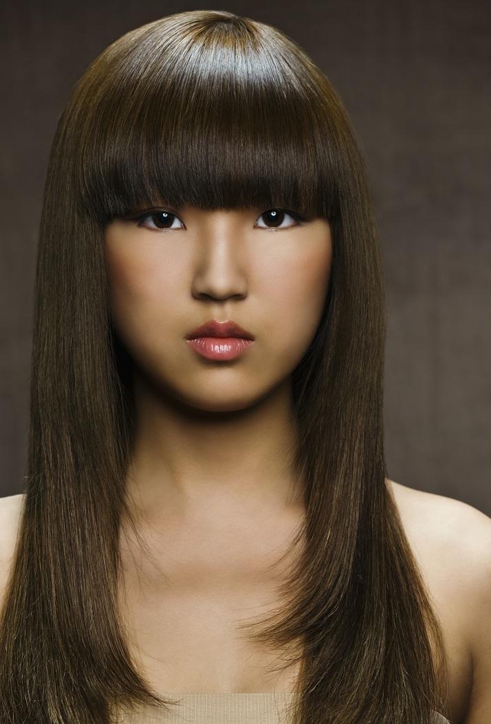 Cómo conseguir un peinados con pelo liso Colección De Tutoriales De Color De Pelo - Estilos y Peinados de moda : Cortes de pelo liso para ...