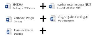 merge data in word