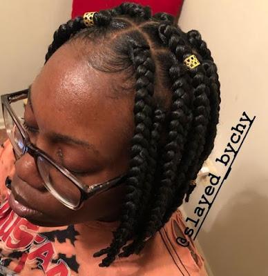 Short Braided Bob Hairstyles