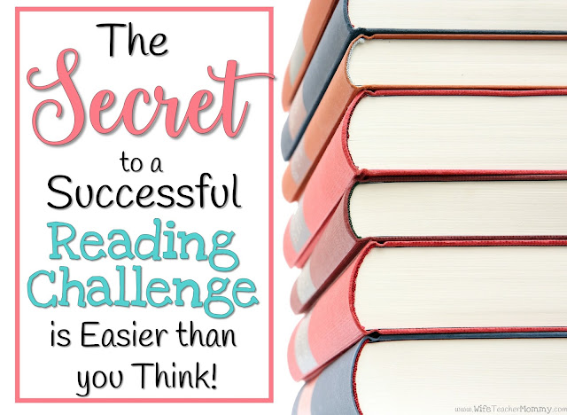 The Secret to a Successful Reading Challenge is Easier than you Think