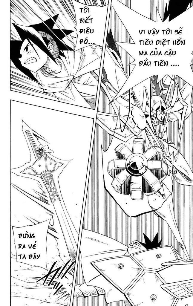 Shaman King [Vua pháp thuật] chap 216 trang 10