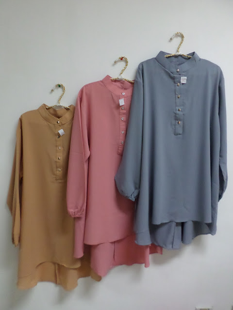 Model Blouse Kerja Wanita Muslim Terbaru 2016