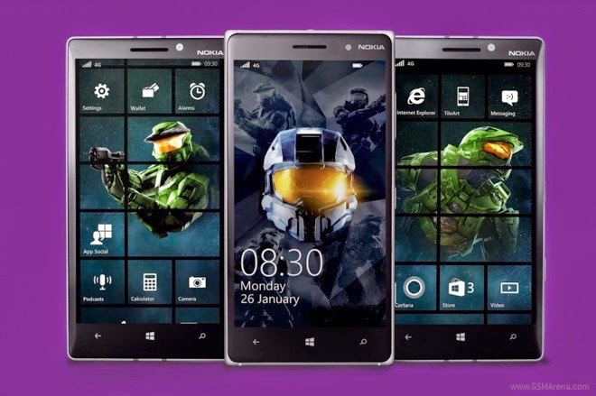 Utak atik homescreen windows phone