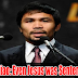 Sen. Pacquiao Reimpose Death Penalty, says even Jesus was Sentenced to Die