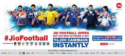 JioFootball Offer