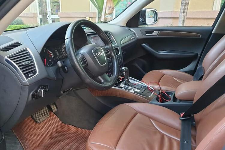 Xe sang Audi Q5 lăn bánh 9 năm, bán 680 triệu ở Hà Nội