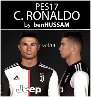 PES 2017 Faces Cristiano Ronaldo by BenHussam