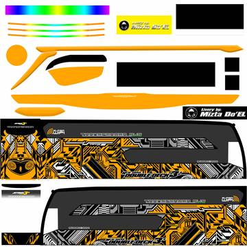 Livery JB3+ SDD MD Creation Electrical Orange