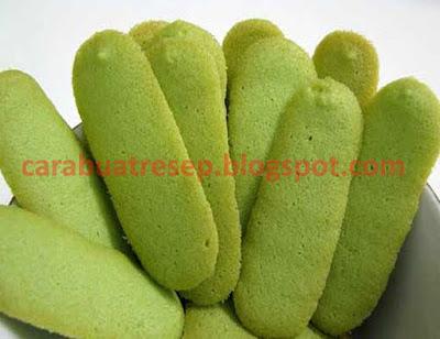 Resep Kue Lidah Kucing Green Tea Renyah Sederhana Spesial Asli Enak CARA MEMBUAT KUE LIDAH KUCING GREEN TEA