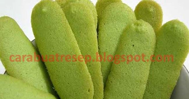 CARA MEMBUAT KUE LIDAH KUCING GREEN TEA | Resep Masakan ...