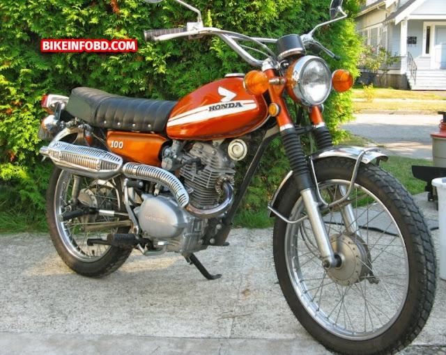 1973 Honda CL100