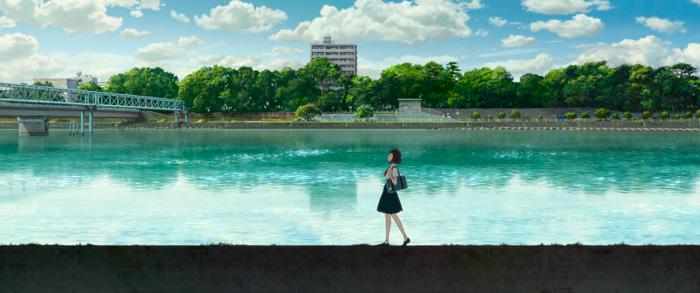 Belle (Ryuu to Sobakasu no Hime) anime film - Mamoru Hosoda
