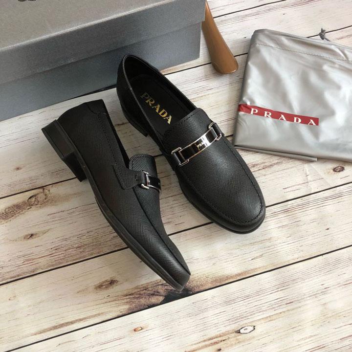 Giày lười nam Prada đế cao siêu cấp GNPRD-67