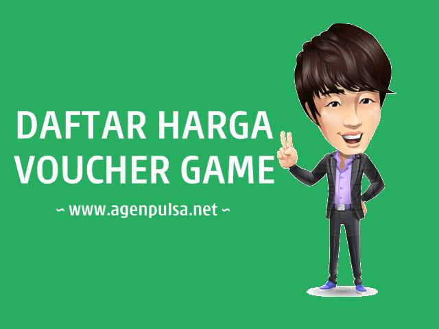 Daftar Harga Voucher Game Online Murah AgenPulsa.net