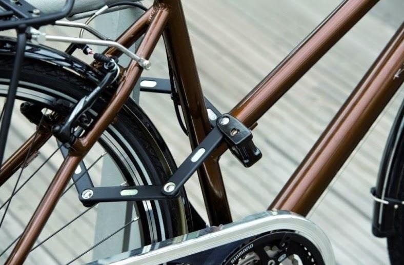 велосипедный замок велозамок