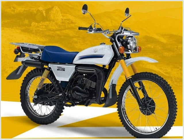 Suzuki TF125, Motor Biasa ala Trail