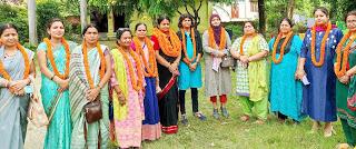 भाजपा महिला मोर्चा की बैठक सम्पन्न    #NayaSaberaNetwork