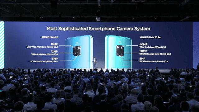 Huawei Mate 20 and Mate 20 Camera