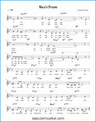 nica's dream lagu jazz standar