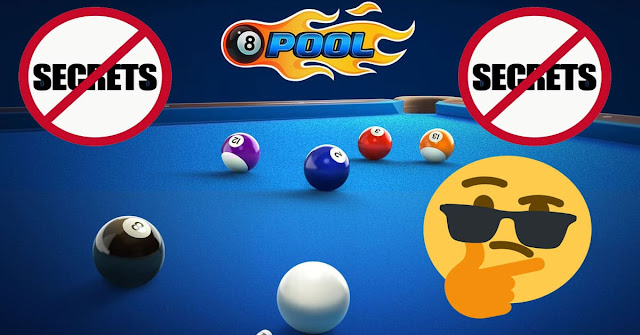 Secrets of the game 8 ball pool