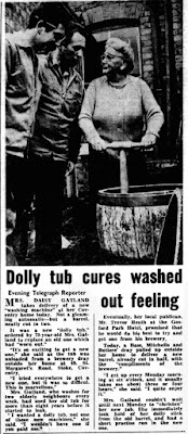 Dolly Tub. Coventry Evening Telegraph 22Feb1968