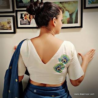 kalamkari blouse designs