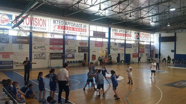 Συνέχεια του αναπτυξιακού πρωταθλήματος χάντμπολ στο Ναύπλιο