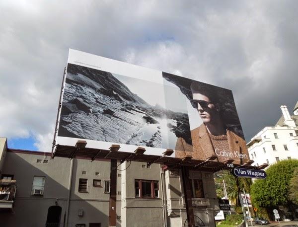 Calvin Klein Collection FW 2014 menswear billboard