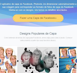 Fazer capa para facebook gratis