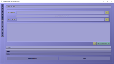 Visual Mythic Game Master Emulator