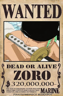 http://pirateonepiece.blogspot.com/2011/02/wanted-roronoa-zoro-luffy-romance-dawn.html