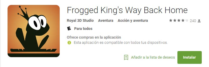 Frogged King's Way Back Home