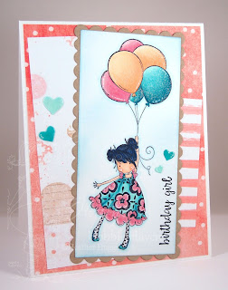 Heather's Hobbie Haven - Blossom Loves Balloons Card Kit