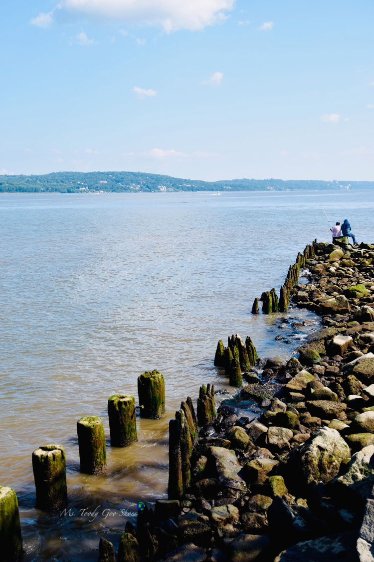 The Piermont Pier, in Piermont, NY, is an easy day trip from New York City. | Ms. Toody Goo Shoes