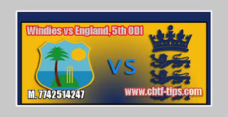 5th ODI Match Prediction Tips by Experts WI vs ENG