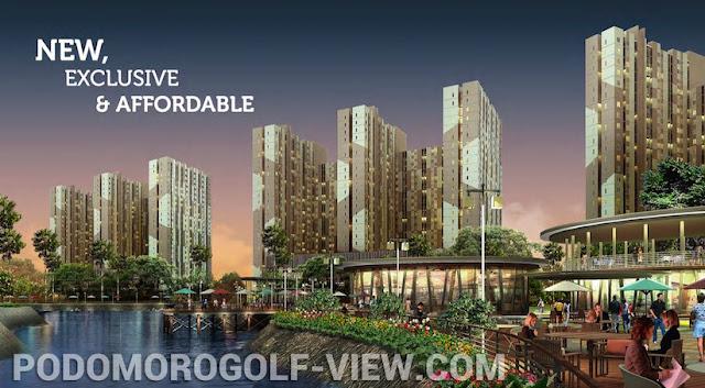 Podomoro Golf View Apartment Murah Cimanggis Depok