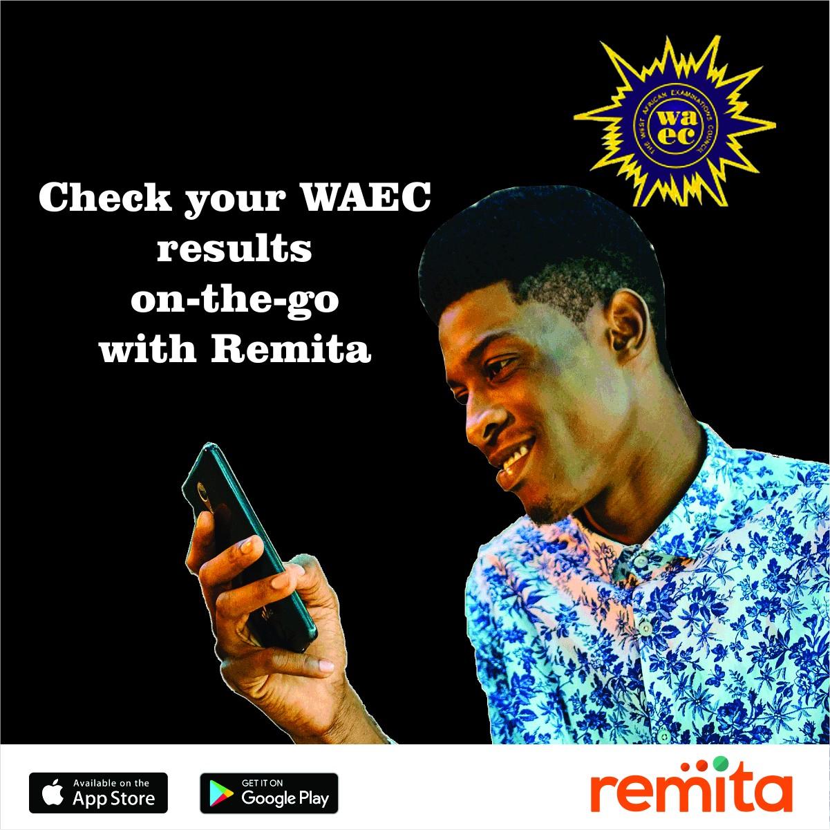 Purchase WAEC Result Checker e-Pin via Remita for (₦900) Only