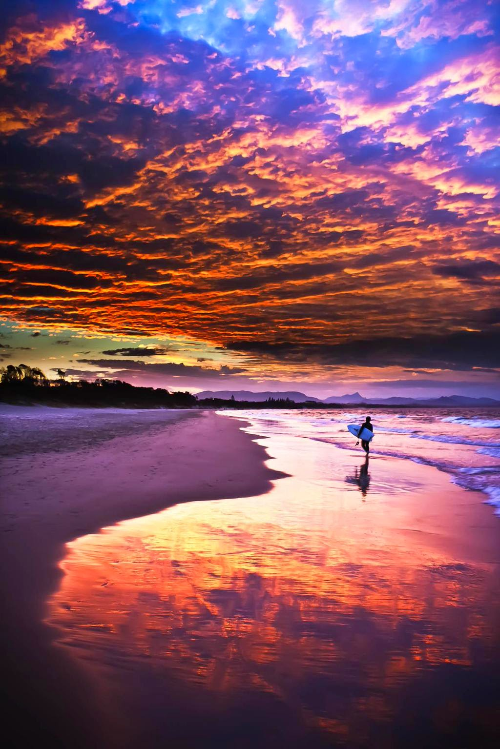 Byron Beach Sunset, Australia  | Australia the perfect land photography lovers