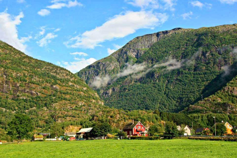 Frente a Eidfjord.