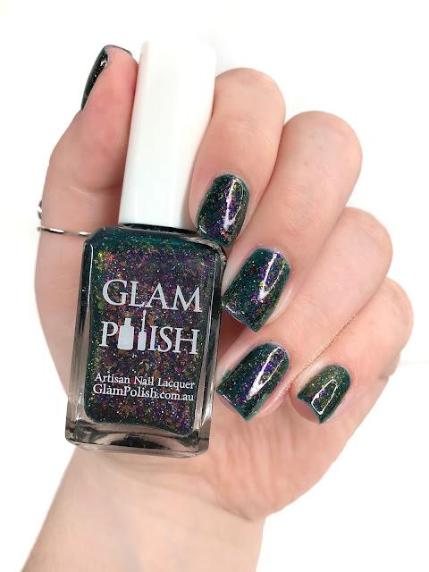Glam Polish Are you Afraid of the Dark? 25 Sweetpeas