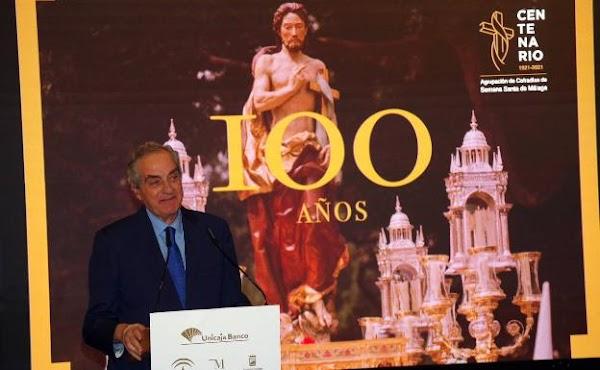 La procesión magna de Málaga por el centenario de la Agrupación de Cofradías será el sábado 25 de septiembre de 2021