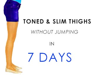 exercise for fat loss on thighs